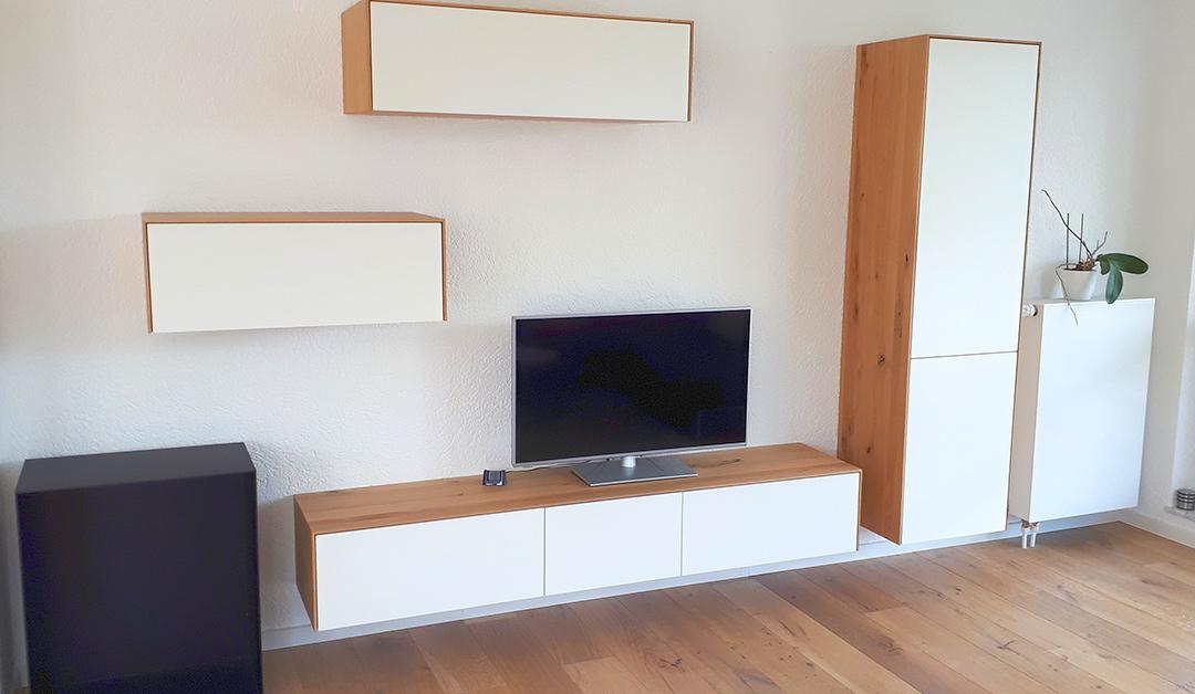 Wohnzimmer-Wand